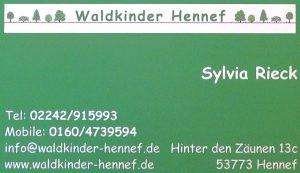 Waldkinder Hennef - www.waldkinder-hennef.de