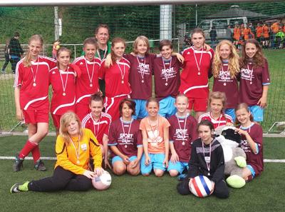 C-Juniorinnen - Saison 2014/2015