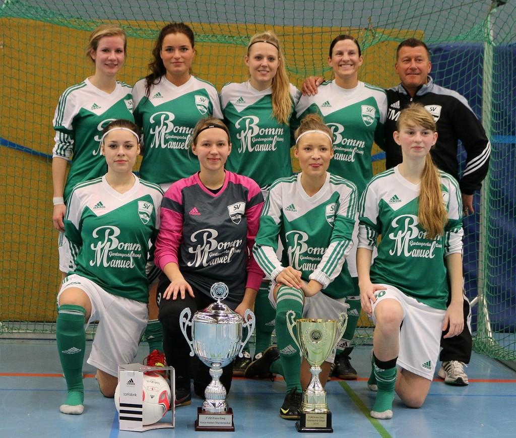 Kreishallenpokalsieger 2015