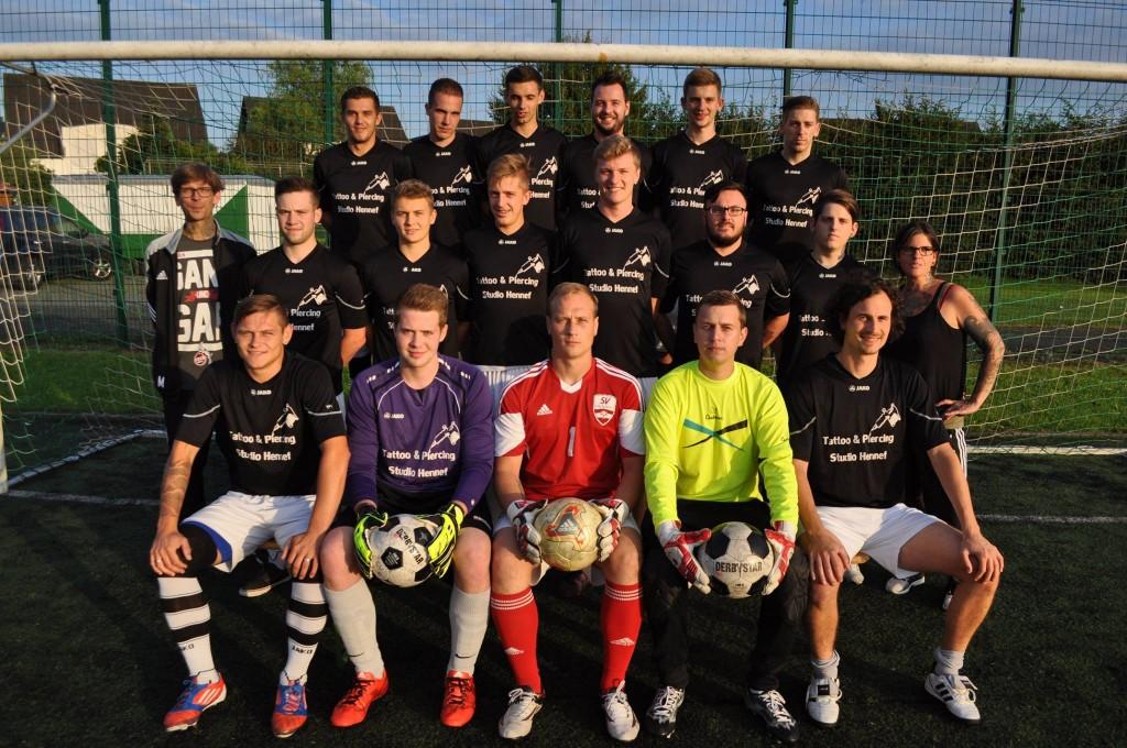 Saison 2015/16 – Mannschaftsfoto unserer Ersten vom 1.8.2015