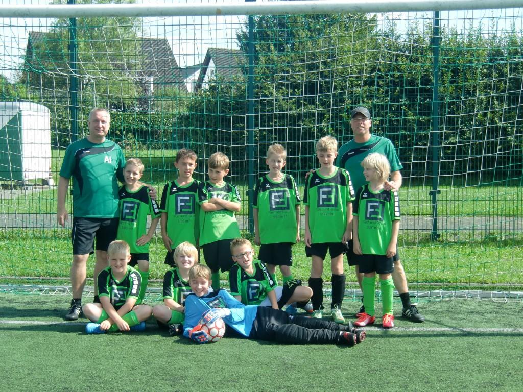 Saison 2015/16 – Mannschaftsfoto U11-1 vom 15.8.2015