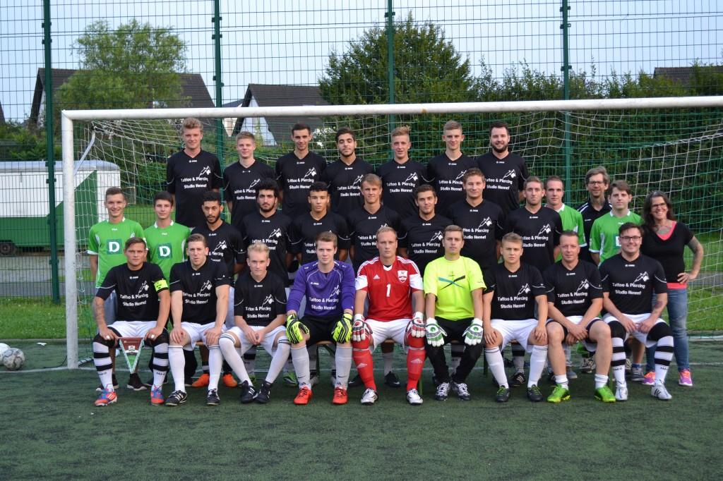 Saison 2015/16 – Mannschaftsfoto unserer Ersten vom 11.8.2015