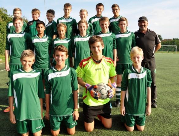 Saison 2015/16 – Mannschaftsfoto U15
