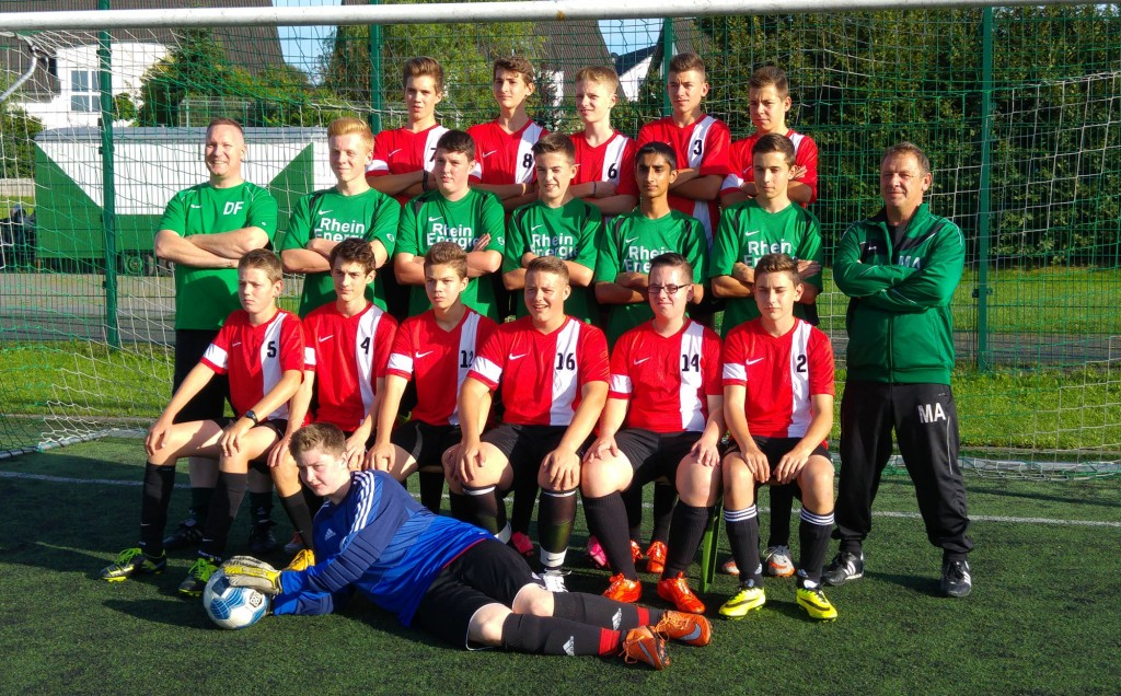 Saison 2015/16 – Mannschaftsfoto U17-2