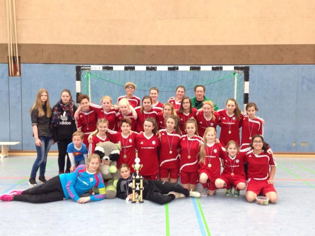 Saison 2015/16 - C-Juniorinnen Stadtmeister