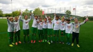 21.05.2016 - U10 in Marienfeld