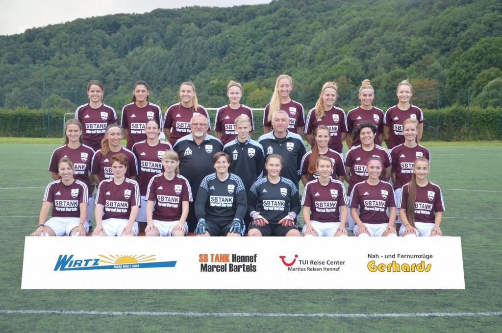 Saison 2016/17 - Teamfoto vom 8.8.2016